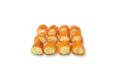Mini Poivrons Orange Farcis au Fromage et Miel
