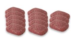 Panier de 10 Steaks hachés de bœuf (120g) + 3 gratuits (120g)