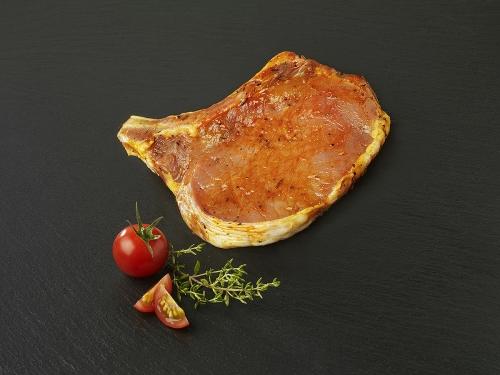 Côte de porc marinée Provençale