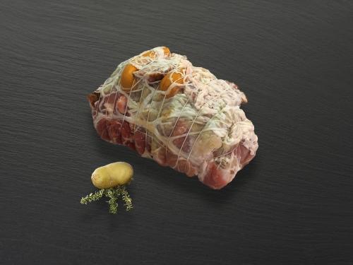 Rôti de porc choucroute